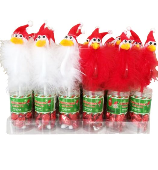 Fluffy Pen Christmas
