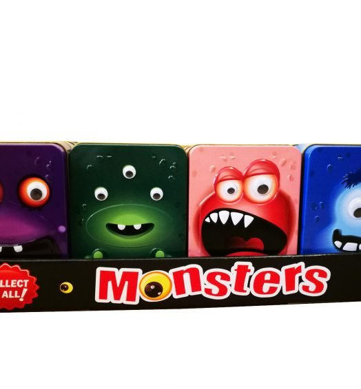 Monster Tins wth Candy