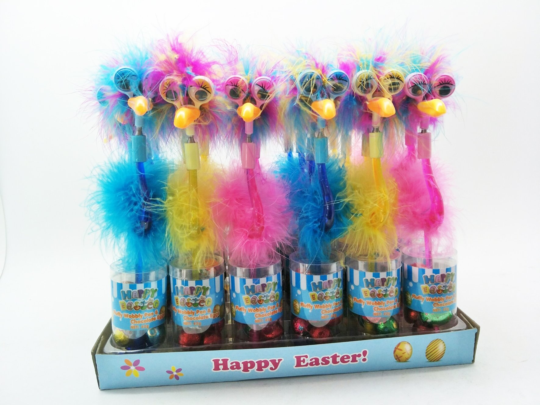 Wobbly Fluffy Pen Easter