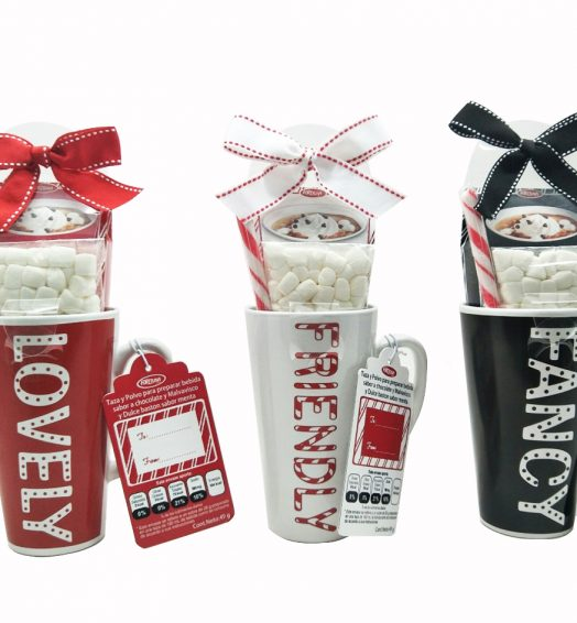 Christmas Hot Cocoa Gift Mugs
