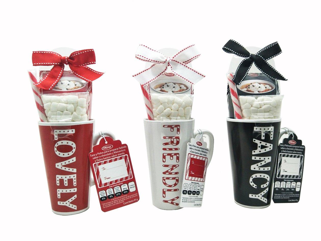 Christmas Hot Cocoa Gift Mugs