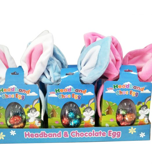 Easter Headbands with Chocolate