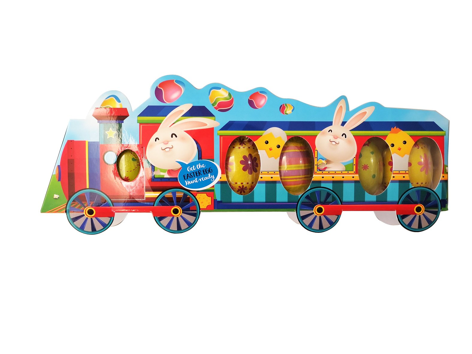 Easter Train with Chocolate
