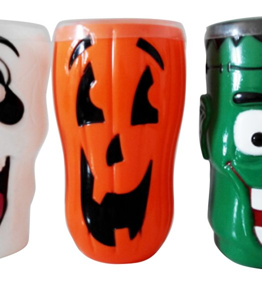 Halloween Scary Cups with Candy
