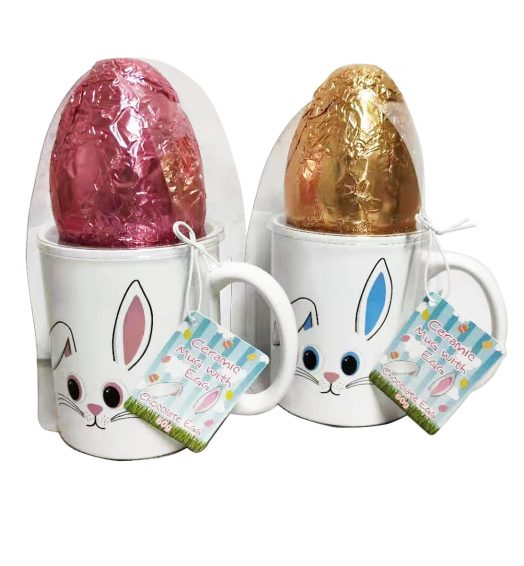 Mug with Chocolate Egg